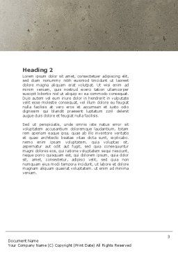 Jobs Word Template, Second Inner Page, 04745, Consulting — PoweredTemplate.com