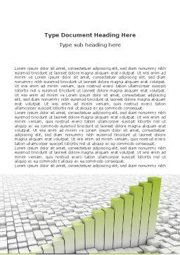 Rate Chart Word Template, Cover Page, 04779, Business Concepts — PoweredTemplate.com