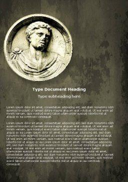 Caligula Word Template Cover Page