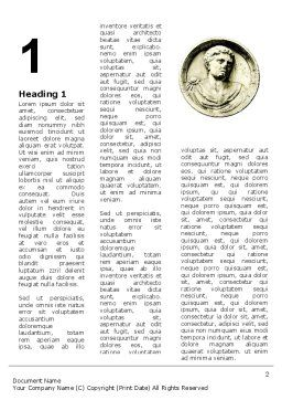 Caligula Word Template First Inner Page