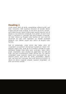 Boomerang Word Template Second Inner Page