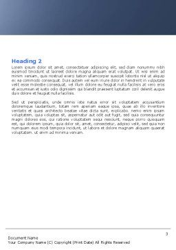 Free Carl Hiaasen Word Template Second Inner Page