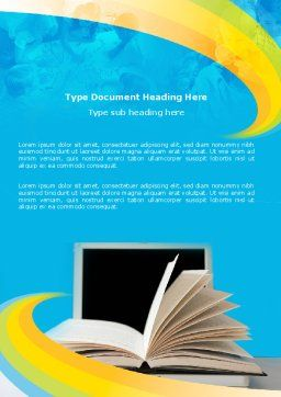 eLearning Word Template Cover Page