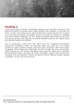Housing Solution Word Template Second Inner Page