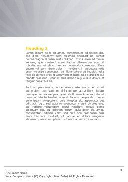 Lock Word Template, Second Inner Page, 04814, Consulting — PoweredTemplate.com