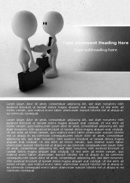 Making Business Word Template, Cover Page, 04846, Consulting — PoweredTemplate.com