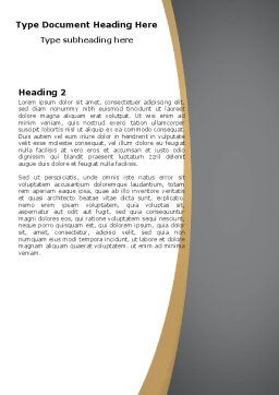 FAQ Word Template, Second Inner Page, 04852, Consulting — PoweredTemplate.com