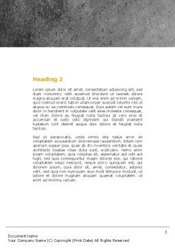 Internet Addiction Word Template Second Inner Page