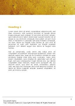 Specify Direction Of Movement Word Template, Second Inner Page, 04864, Business Concepts — PoweredTemplate.com