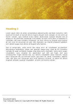 Greeting Word Template, Second Inner Page, 04867, Business — PoweredTemplate.com