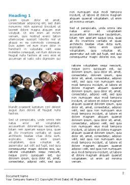 Cultural Diversity Word Template First Inner Page