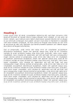 House Planning Word Template, Second Inner Page, 04917, Construction — PoweredTemplate.com