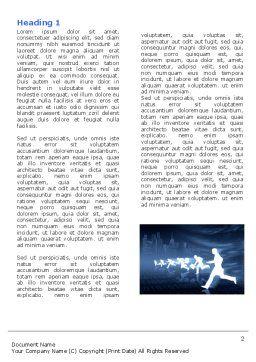 Business Rush Run Word Template, First Inner Page, 04934, Business — PoweredTemplate.com