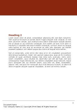 Barber Word Template, Second Inner Page, 04945, Careers/Industry — PoweredTemplate.com