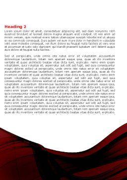 Mystic Beauty Word Template, Second Inner Page, 04951, Art & Entertainment — PoweredTemplate.com