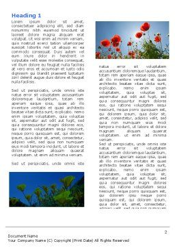 Poppy Word Template, First Inner Page, 04965, Nature & Environment — PoweredTemplate.com