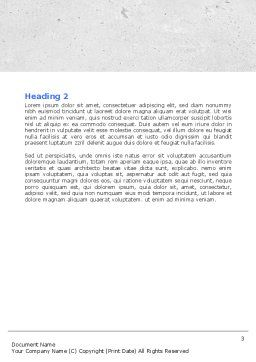 Choosing Way Word Template, Second Inner Page, 04967, Consulting — PoweredTemplate.com