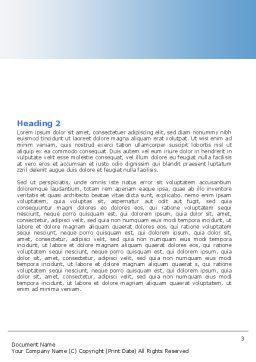 Education and Computer Word Template, Second Inner Page, 04976, Education & Training — PoweredTemplate.com