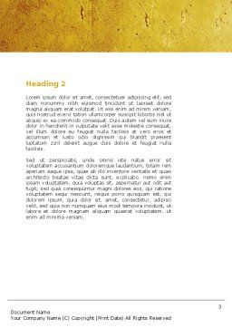 Townhouse Planning Word Template, Second Inner Page, 05014, Consulting — PoweredTemplate.com