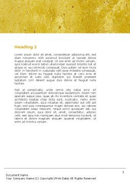 Crisper Word Template Second Inner Page