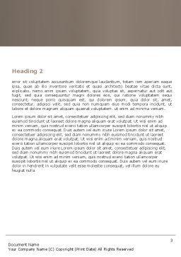 Trucks Word Template, Second Inner Page, 05080, Cars/Transportation — PoweredTemplate.com