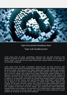 Computer Graphic Design Word Template, Cover Page, 05088, Business Concepts — PoweredTemplate.com
