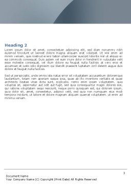 Cloning Word Template, Second Inner Page, 05091, Medical — PoweredTemplate.com