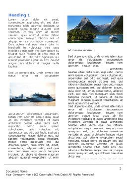 Cruise Word Template First Inner Page