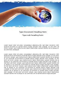 Global Links Word Template Cover Page