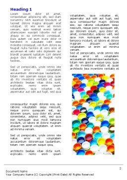 Plasticware Word Template First Inner Page