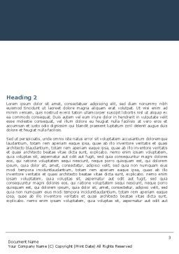 Hoist Word Template, Second Inner Page, 05309, Construction — PoweredTemplate.com