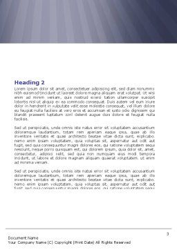 Open Doors To The Light Word Template, Second Inner Page, 05334, Business — PoweredTemplate.com