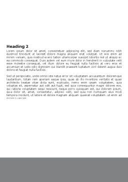 Mechanisms Of Brain Word Template, Second Inner Page, 05340, Consulting — PoweredTemplate.com