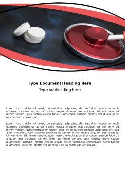 Medical Diagnosis Word Template Cover Page
