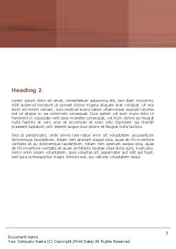 Press Start Word Template, Second Inner Page, 05360, Consulting — PoweredTemplate.com