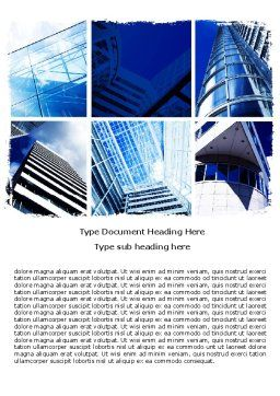 Urban Architecture Word Template, Cover Page, 05365, Construction — PoweredTemplate.com