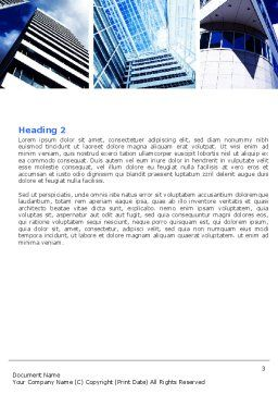 Urban Architecture Word Template, Second Inner Page, 05365, Construction — PoweredTemplate.com