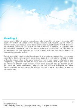 Asian Company Word Template, Second Inner Page, 05394, Business — PoweredTemplate.com