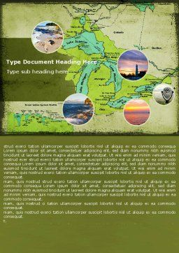 Great Lakes Word Template Cover Page