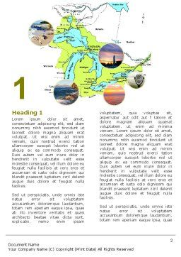 Great Lakes Word Template First Inner Page
