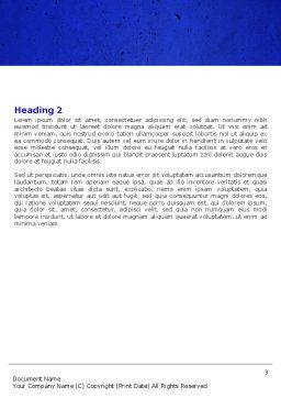 Building Damage Word Template, Second Inner Page, 05413, Construction — PoweredTemplate.com