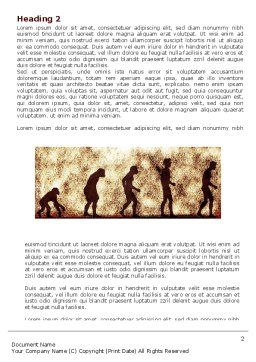 Human Development From Ape Word Template, First Inner Page, 05415, Consulting — PoweredTemplate.com