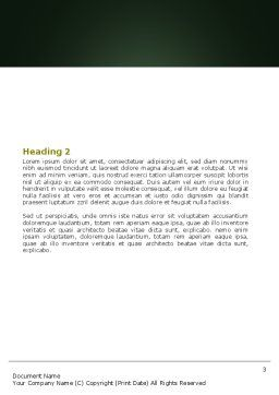 Class Teaching Word Template Second Inner Page
