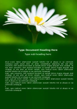 Daisy Chain Word Template Cover Page