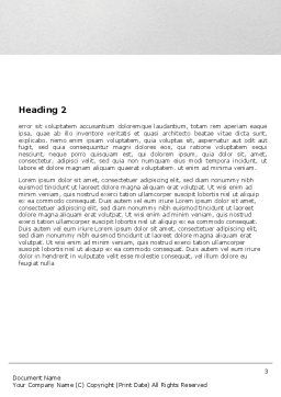Portrait Of Medical Staff Word Template, Second Inner Page, 05468, Medical — PoweredTemplate.com