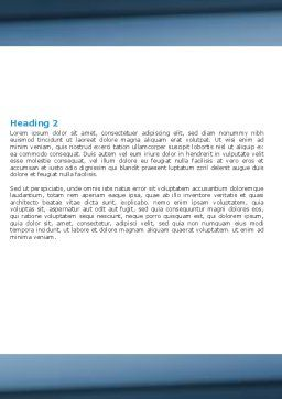 Medical Testing In The Laboratory Word Template Second Inner Page