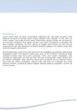 3D Human Model Word Template, Second Inner Page, 05489, 3D — PoweredTemplate.com