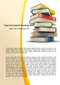 Essential Reading Word Template, Cover Page, 05494, Education & Training — PoweredTemplate.com
