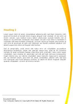 Essential Reading Word Template, Second Inner Page, 05494, Education & Training — PoweredTemplate.com