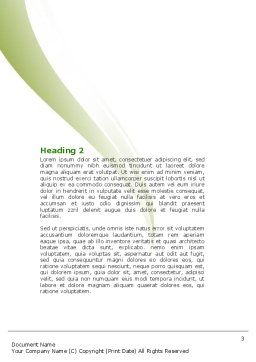Creative Solution Word Template, Second Inner Page, 05530, Education & Training — PoweredTemplate.com